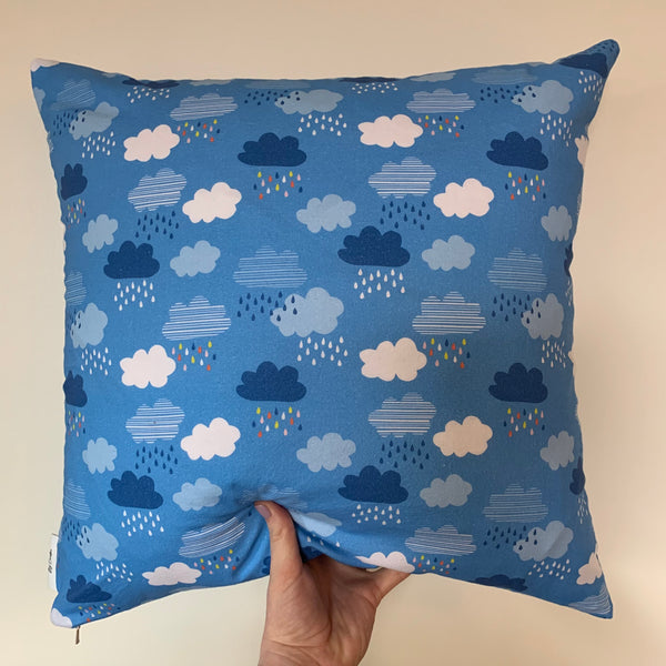 Cloudy Square Pillow