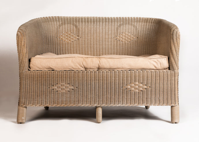 Carla Wicker Sofa