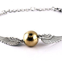 Harry Potter Style Golden Snitch Bracelet