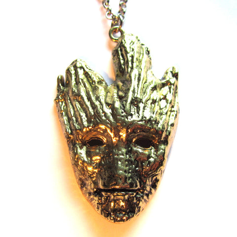 Groot Guardians Of The Galaxy Inspired Necklace