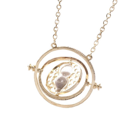Harry Potter Hermione Golden Time Turner Style Necklace