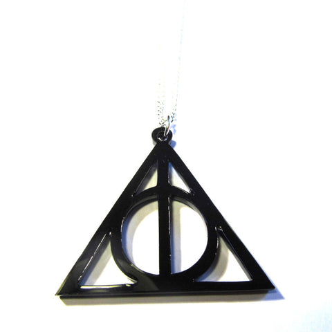 Harry Potter Style Deathly Hallows Symbol Dolly Loves Polkadot