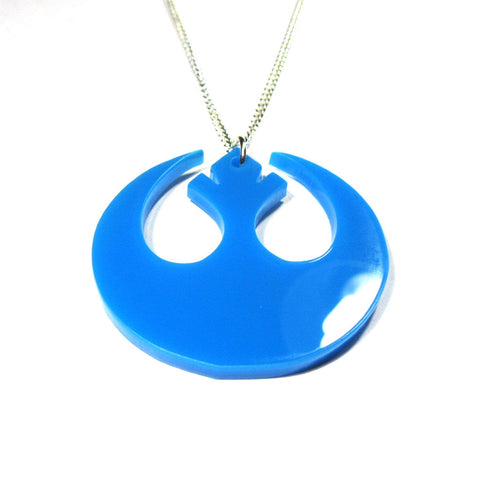 SW Rebel Alliance Style Acrylic Pendant