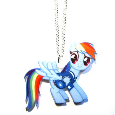 Rainbow Dash – My Little Pony Style Pendant