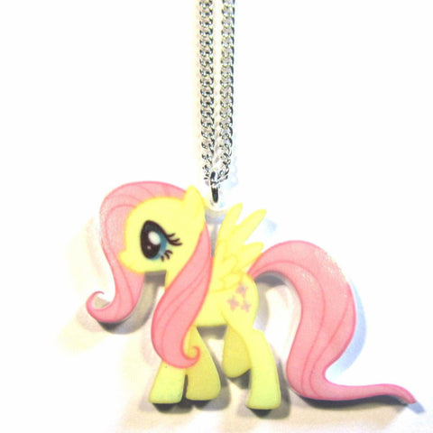 Fluttershy – My Little Pony Style Pendant