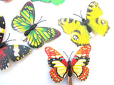Gorgeous Butterfly Print Hair Clips (Various Colours and Designs)