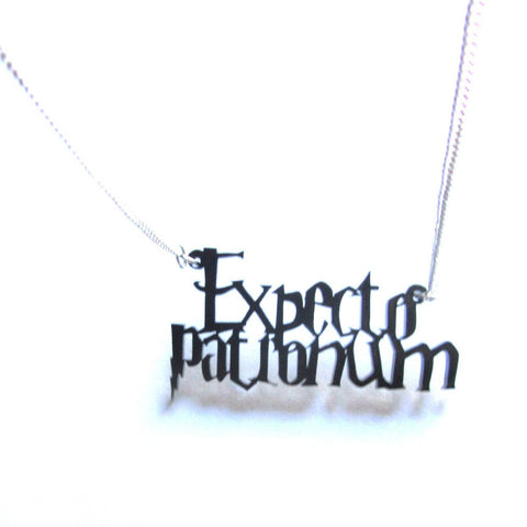 Expecto Patronum Spell Harry Potter Pendant