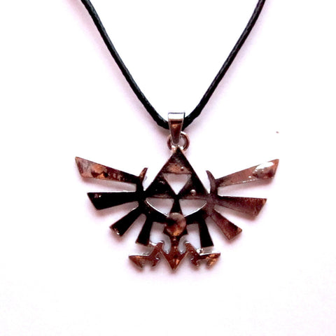 Legend of Zelda Triforce Symbol Inspired Pendant Necklace