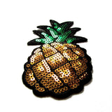 DIY Fashion Sequin Pineapple Iron On Patch