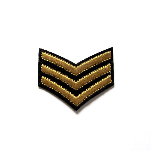 DIY Fashion Military Chevron Stripes Iron On Patch