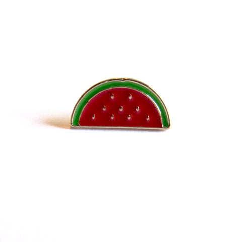 DIY Fashion On Trend Cute Ditsy Watermelon Pin Badge