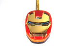 Iron Man Face Style Mirror Acrylic Necklace