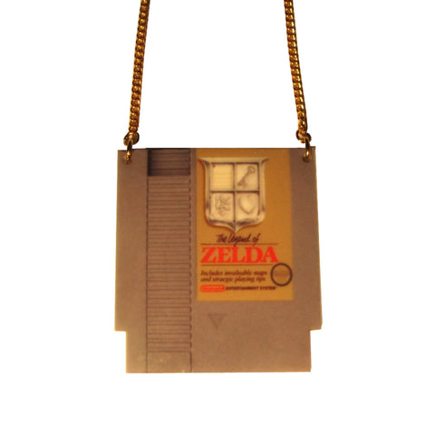 Large Retro Zelda NES Classic Game Pendant