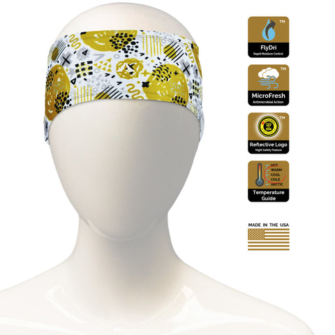 Abstract Geo Headband
