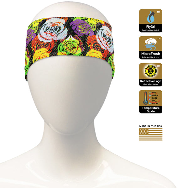 Bright Flower Headband