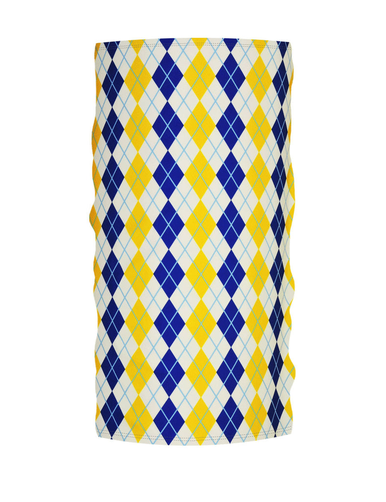 Blue-Yellow Argyle WinterTube™
