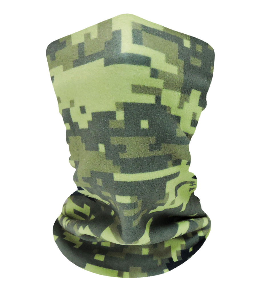 Digital Camo Jungle-Green Neckwarmer