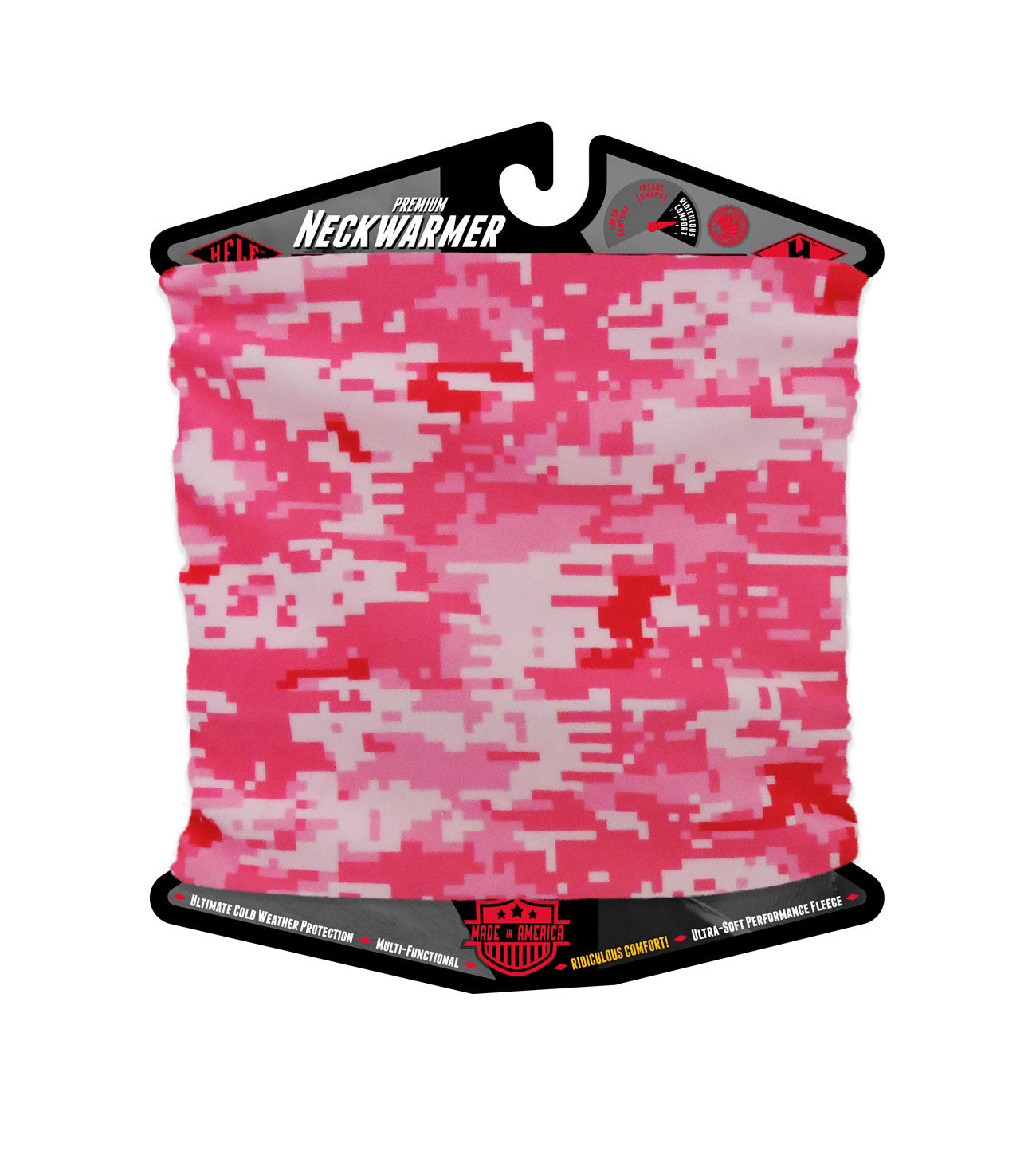 Digital Camo Pink Neckwarmer