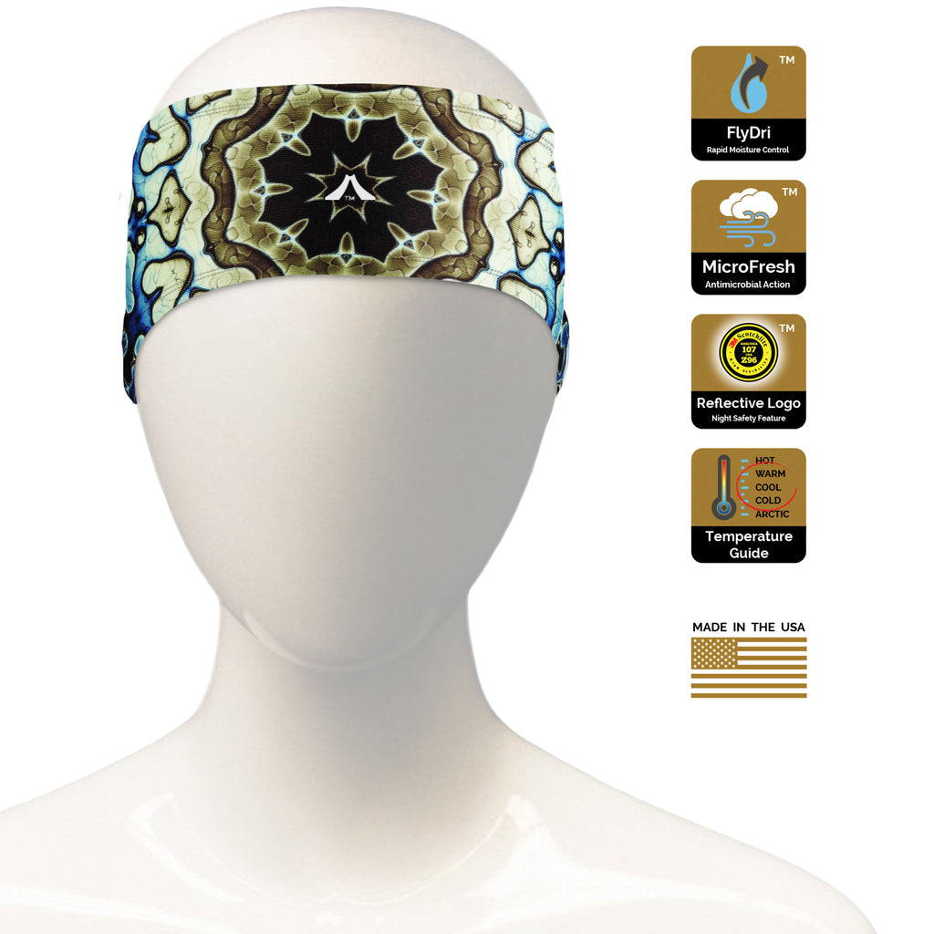 Earthen Fractal Headband