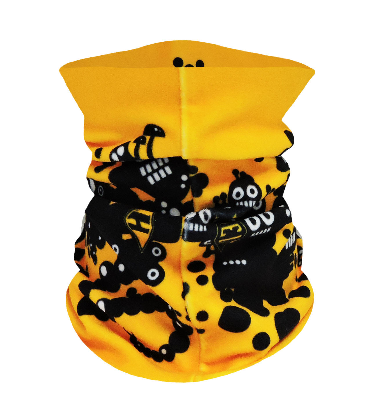 Mr Robotto Gold Neckwarmer