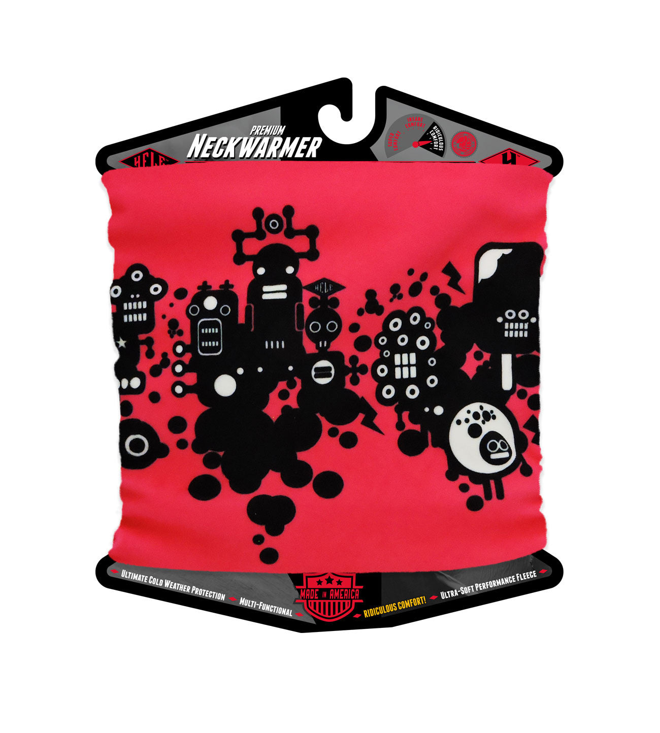 Mr Robotto Pink Neckwarmer