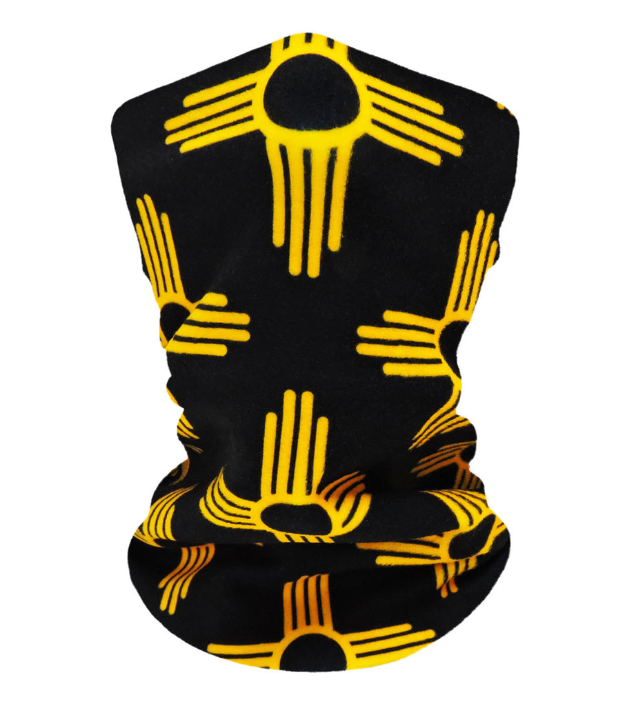 New Mexico Black/Gold Neckwarmer