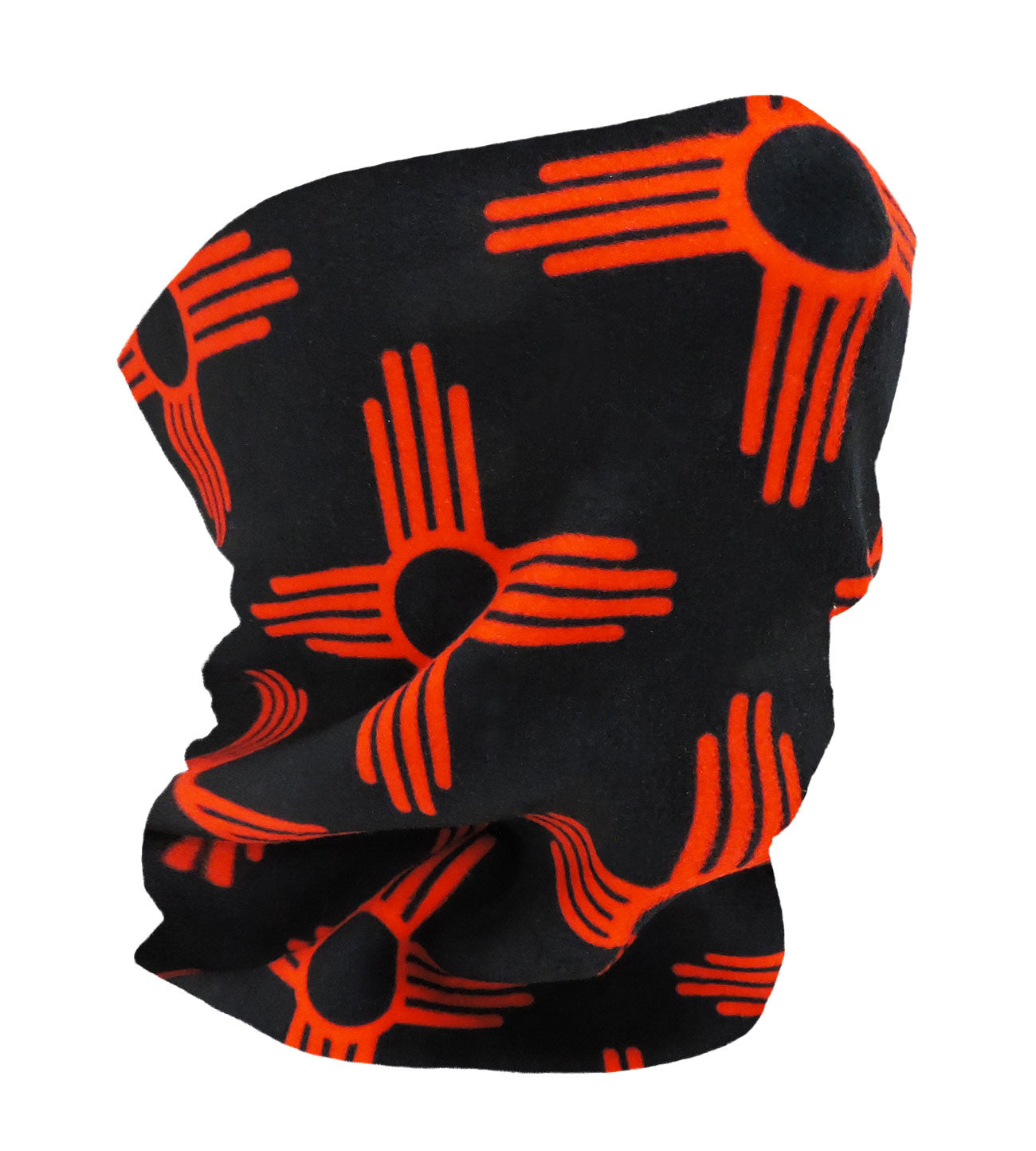 New Mexico Black/Red Neckwarmer