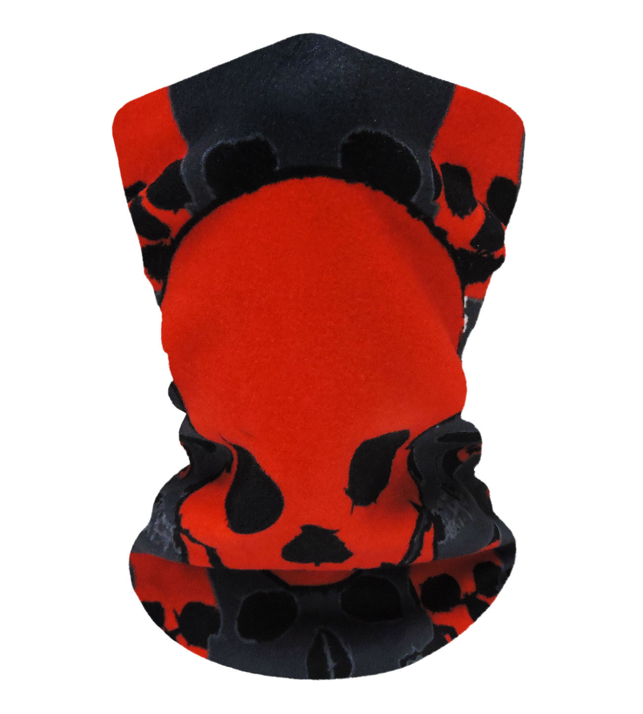 Skullify Cherry-Black Neckwarmer