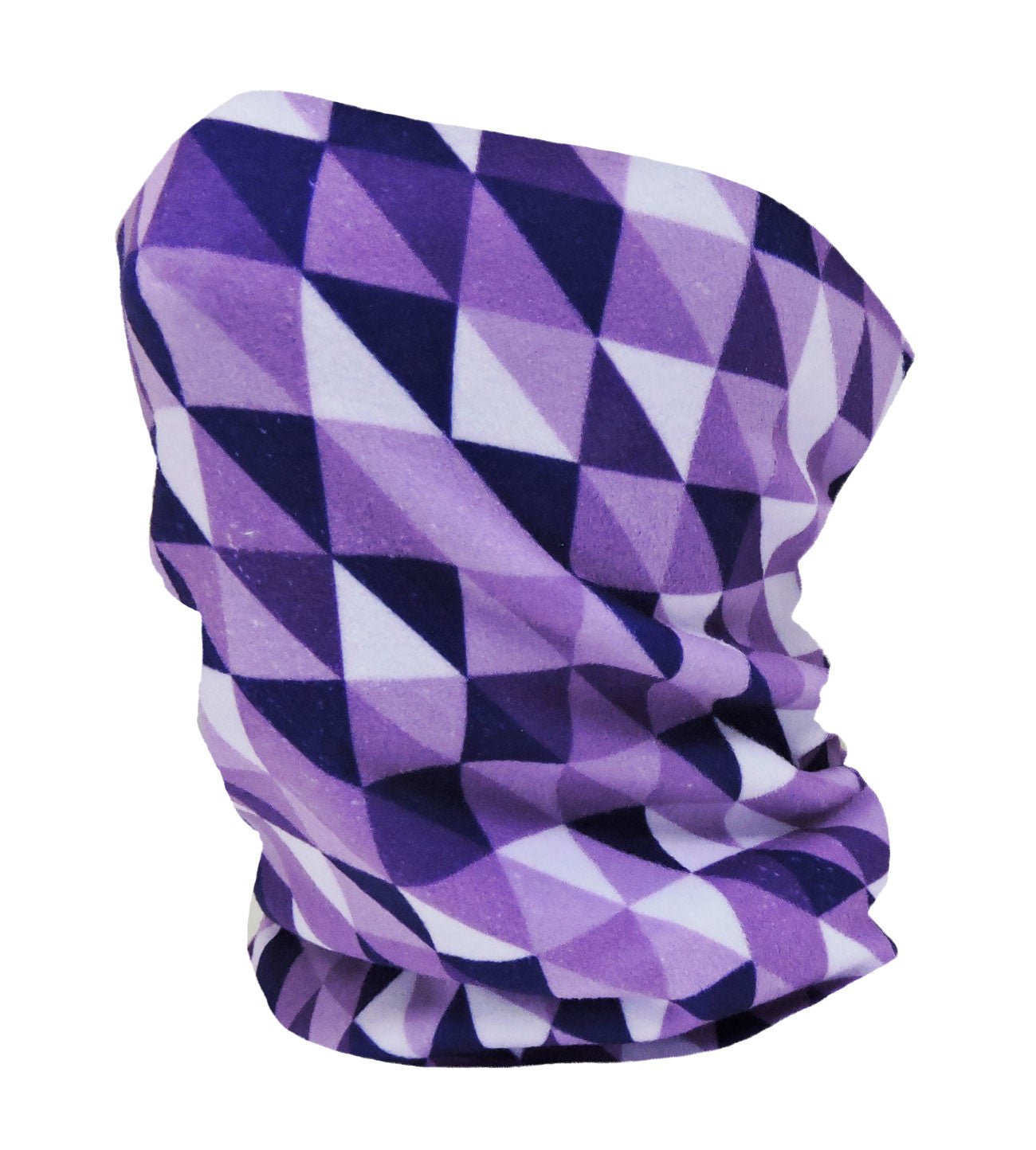What's Your Angle Purple Neckwarmer