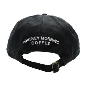 black whiskey morning coffee soft hat