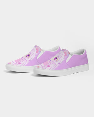 Willowswitch Sakura Mouse Women's Slip-On Canvas Shoe