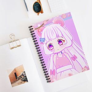 Sakura Mouse Notebook