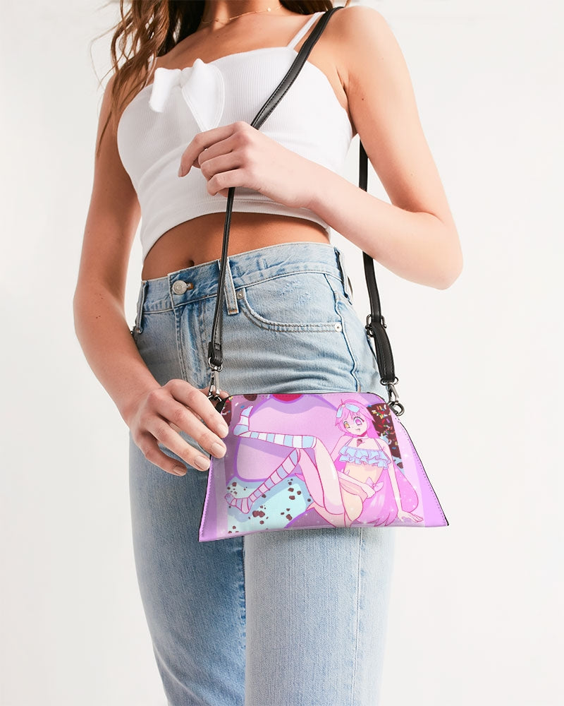 Willowswitch Ice Cream Girl Wristlet