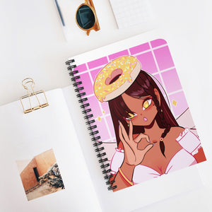 Donut Angel Notebook