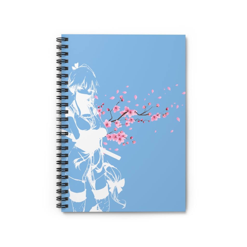 "Sakura Assassin Notebook ""Blue"""