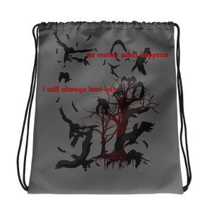 I will always love you Drawstring bag