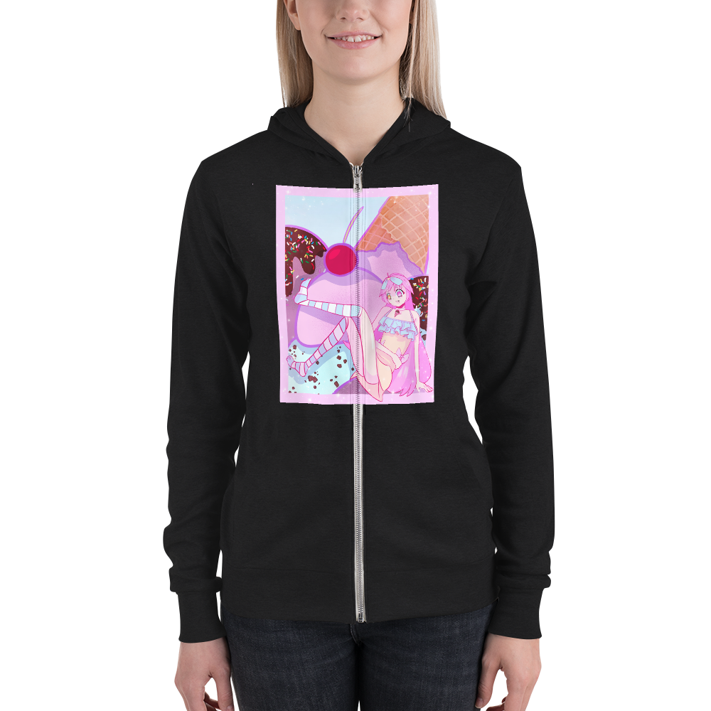 WillowsWitch's Ice Cream Girl Zipper Hoodie