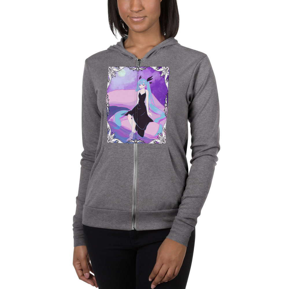 Willow Witches Miku Zipper Sweater