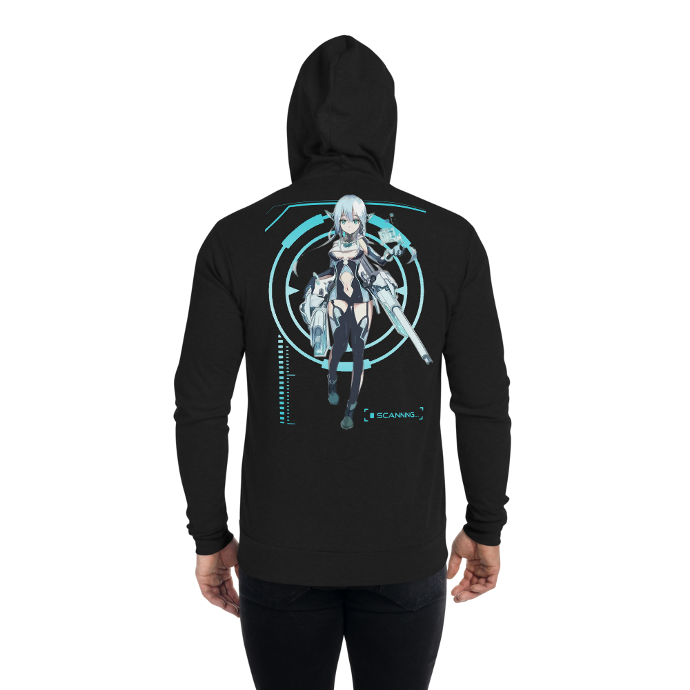Assassin's Cyber Girl Zipper Hoodie