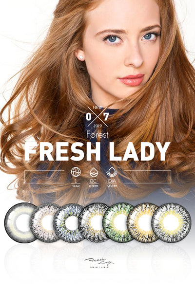 Why Market Love Freshlady Brand Color Contact Lens?