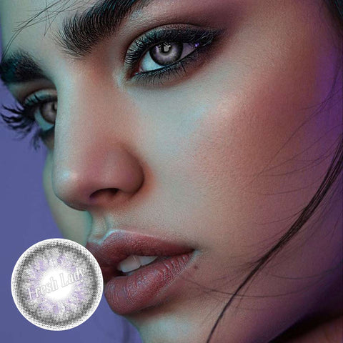 Opal grey ME51 Natural Colored Contact Lenses