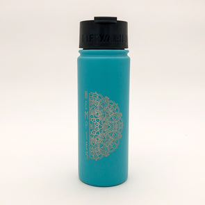 Hempies 18oz Fifty Fifty Teal