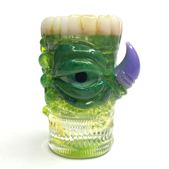 Eli Mazet Sculpted Eye Shot Glass 2.75""