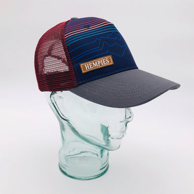 Hempies Mountain Snapback 1