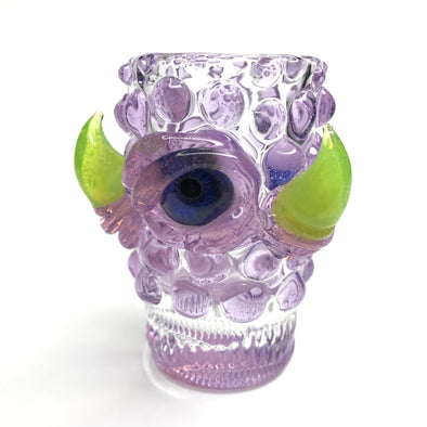 Eli Mazet Sculpted Eye Shot Glass 2.5""