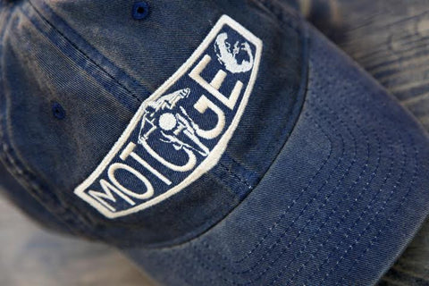MotoGeo Logo Baseball Cap - Navy