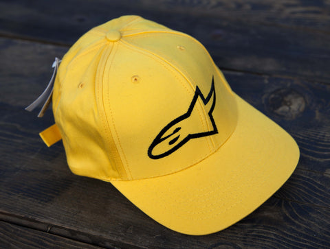 Alpinestars Retro Yellow logo cap (Rare!)