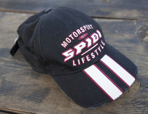 Spidi Motorsport Lifestyle, Black, Vintage look Cap