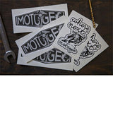MotoGeo Sticker Pack #1