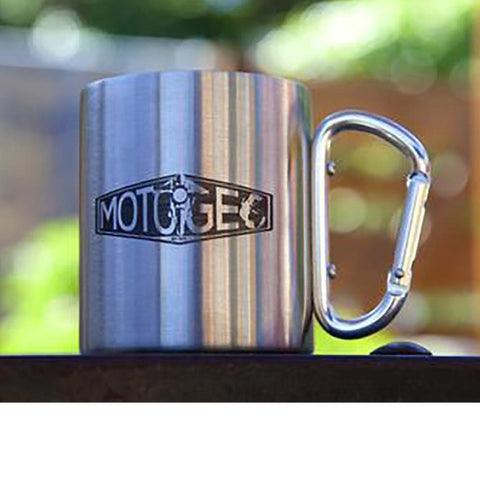 MotoGeo Carabiner Travel Mug